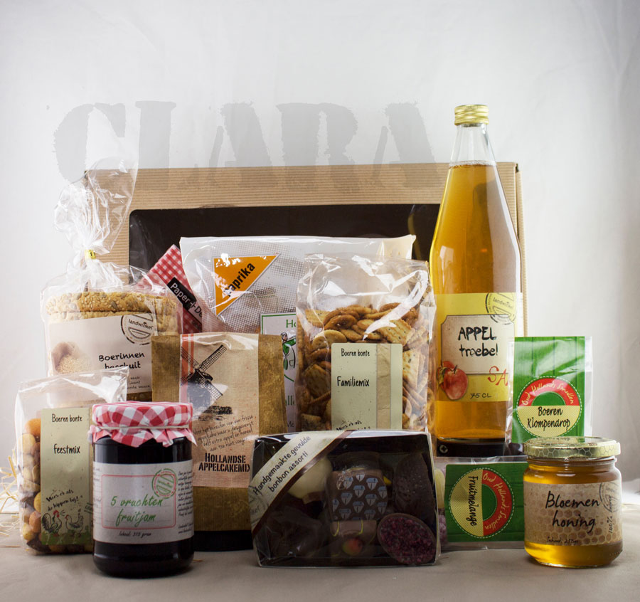 Boerin Clara - Kerstpakket