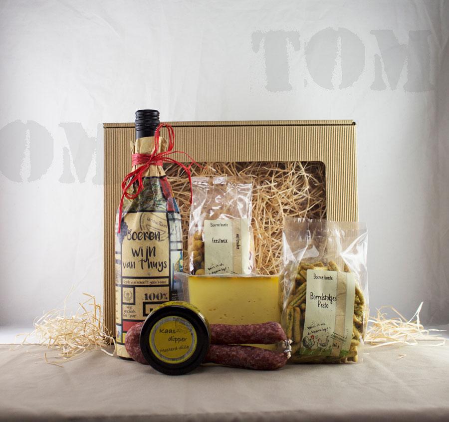 Boer Tom - Kerstpakket