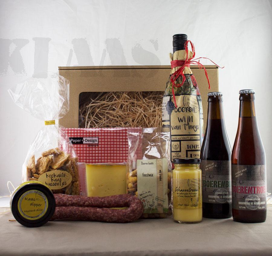 Boer Klaas - Kerstpakket