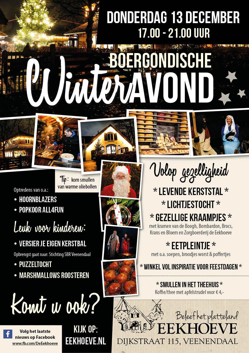 Boergondische winteravond op de Eekhoeve 13 december