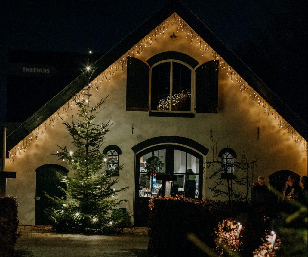 Landwinkel de Eekhoeve in kerstsfeer