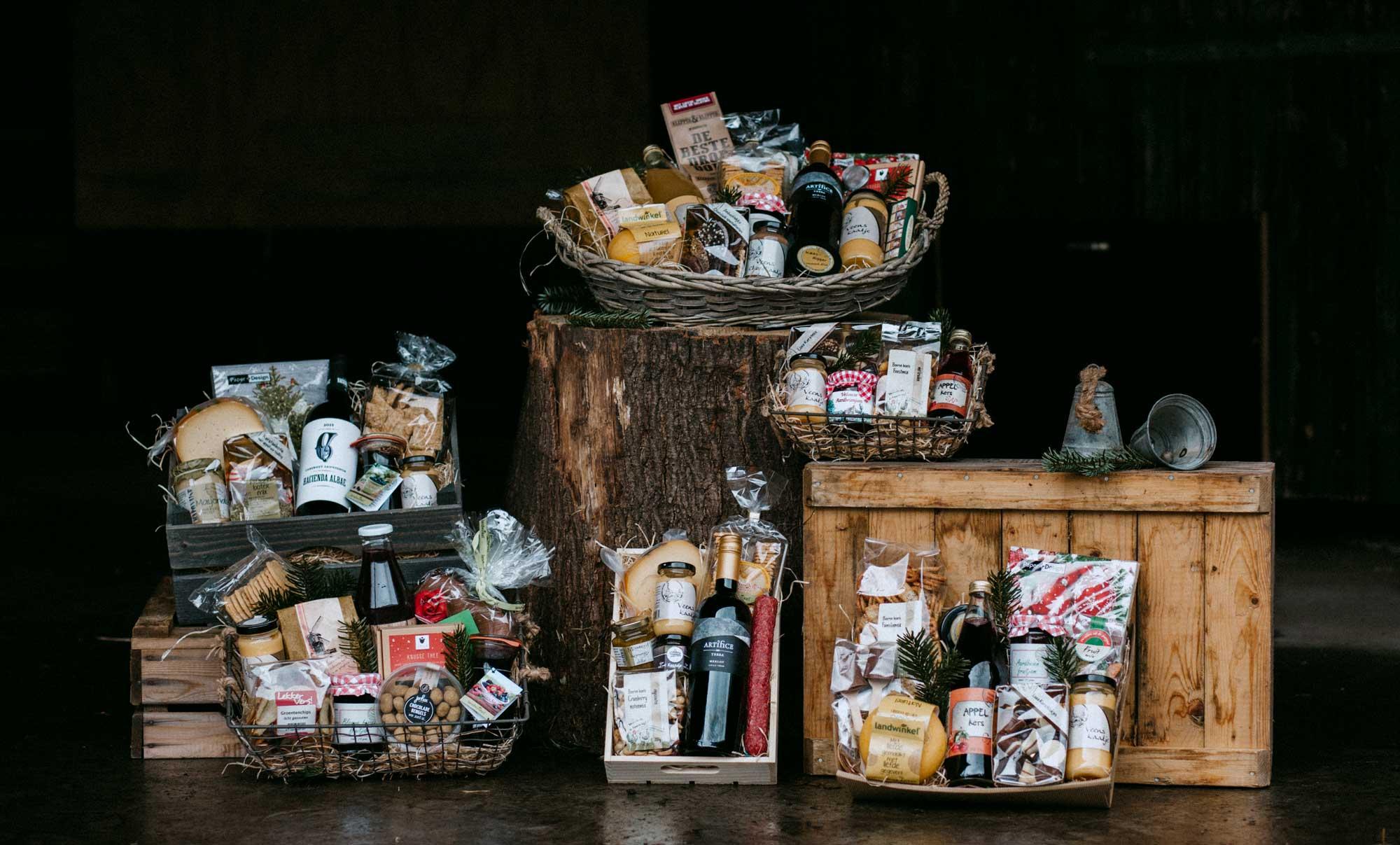 Kerstpakketten van Landwinkel de Eekhoeve in Veenendaal