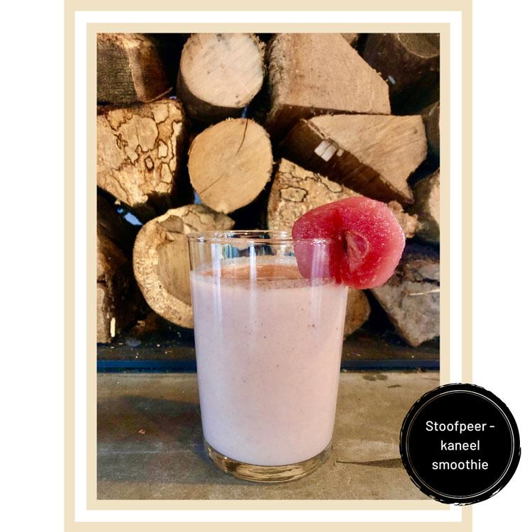 Stoofpeer smoothie theehuis ´bij Kees en Sien' Veenendaal