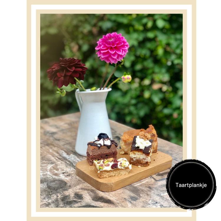 Taartplankje theehuis ´bij Kees en Sien´ Veenendaal